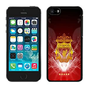 Popular iPhone 5C Case ,Unique And Lovely Designed With Liverpool FC Black iPhone 5C High Quality Cover