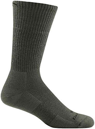 Darn Tough Tactical Boot Cushion Sock - Foliage Green Large (Sock Darn Boot Vermont Tough)