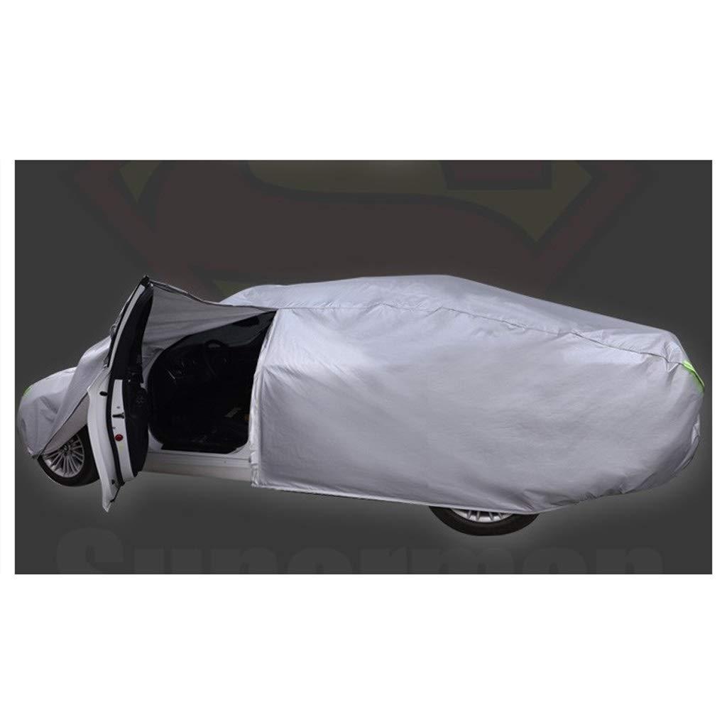Color : Black, Size : A Autoplanen Kompatibel mit Audi A5 Special Car Cover Autokleidung Sonnenschutz Regenfestes Polyestertuch Plus Cotton Velvet Car Cover
