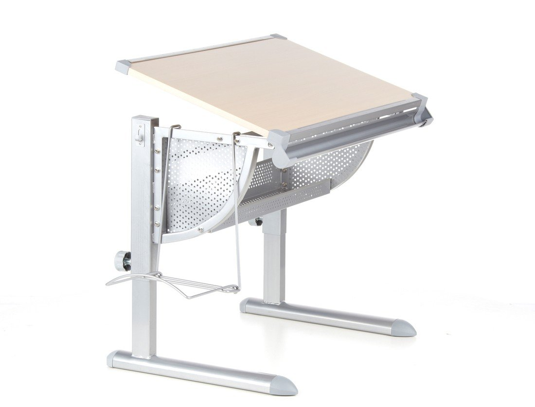 Altezza Banco Di Lavoro Ergonomia : Hjh office scrivania per bambini belia regolabile in altezza