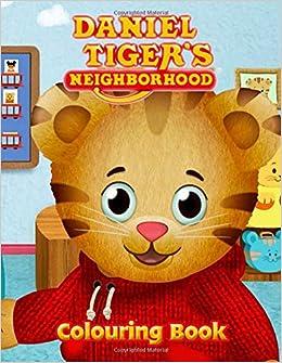 Daniel Tiger S Neighborhood Colouring Book Jumbo Coloring Activity Book By Pbs Kids Fred Rogers Neubauer Helga 9781710269956 Amazon Com Books