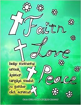 Amazon Com Buku Mewarnai Untuk Kristen Tingkat Mudah 20 Gambar Oleh