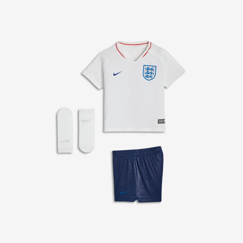 Official England Mini Kit. England FA World Cup Baby Kit Shirt and Shorts