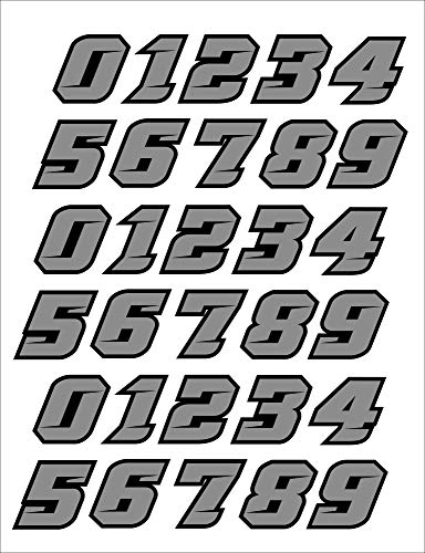 hockey helmet numbers - 6