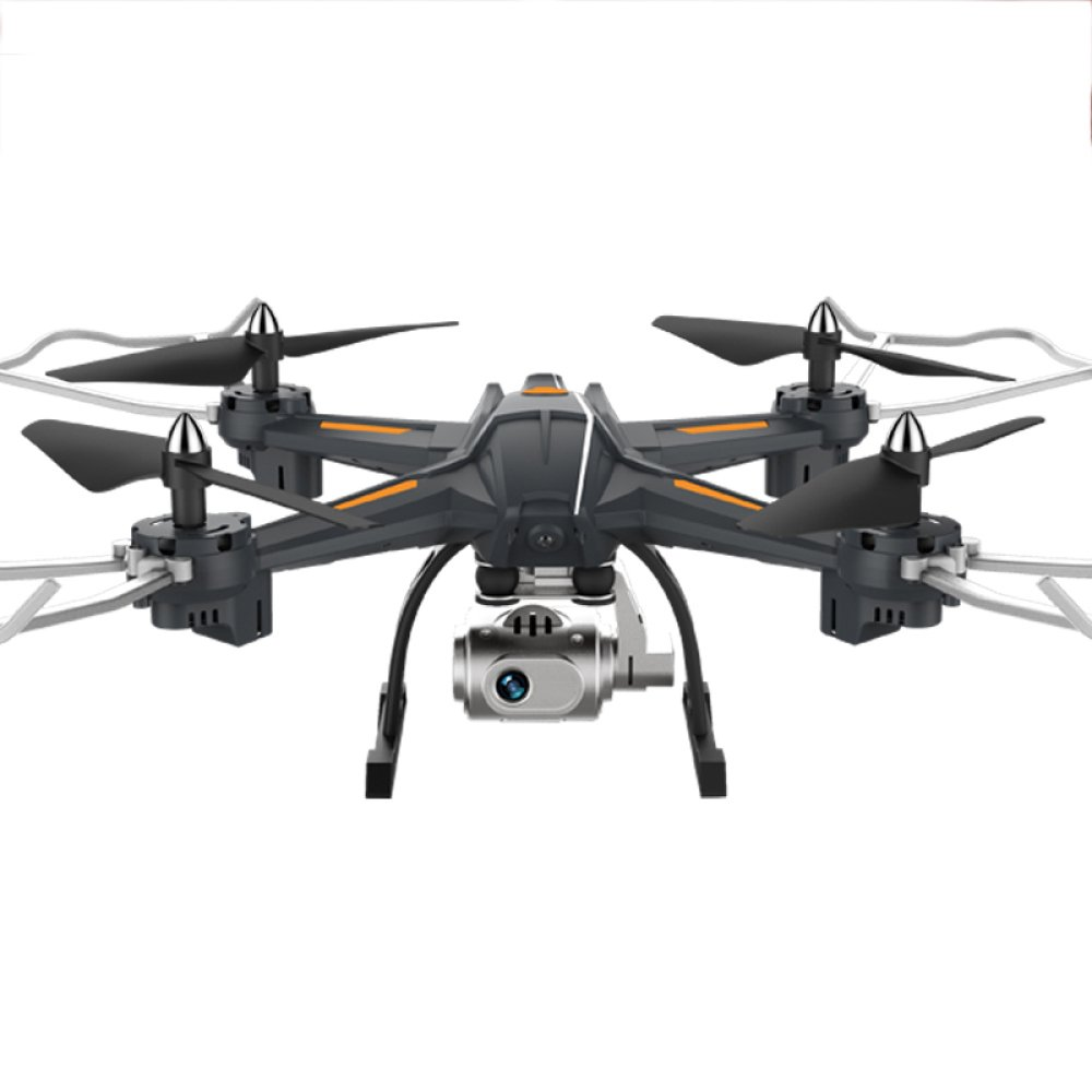 Drohne RC Drone Mit 3MP HD Kamera 720P WIFI Live Video 2.4Ghz 6 Achsen Gyro Quadcopter Mit Höhe Halten Headless Mode Und 3D Flips,2Batteries