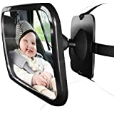 OxGord Baby Car Mirror for Rear View - Facing Back Seat...