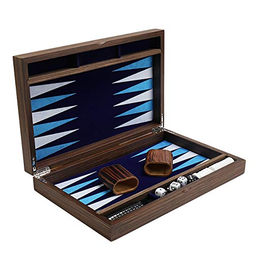 HOLYKING Top Backgammon Set Classic Board Games Case Acrylic Chess Pieces Best Strategy for Adults and Kids