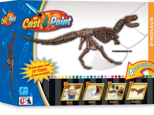 Skullduggery Cast and Paint T-Rex Casting Kit