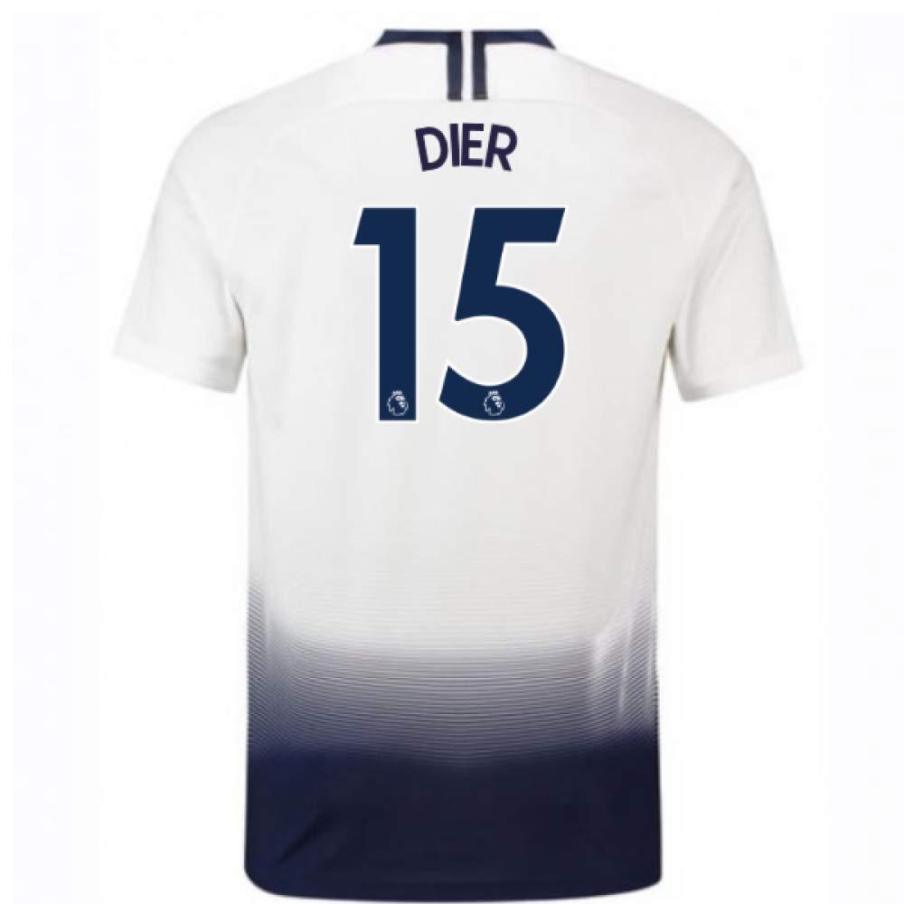 2018-2019 Tottenham Home Nike Football Soccer T-Shirt Trikot (Eric Dier 15) - Kids