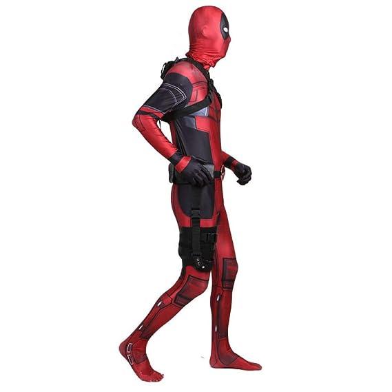KYOKIM Avengers Deadpool Cosplay NiñO Adulto Ropa Traje De ...