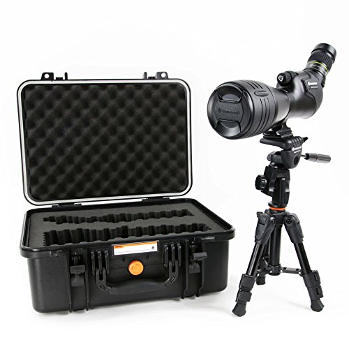 Vanguard Endeavor HD 82A 20-60x82 Angled Spotting Scope with Bonus Tripod and Case by Vanguard