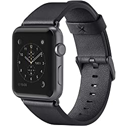 Belkin Classic Leather Wristband For Apple Watch Series 3, Apple Watch Series 2 & Apple Watch Series 1 (38 Mm), Black