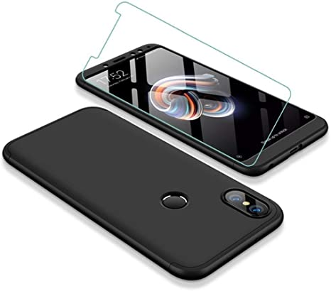 JOYTAG Carcasa ultrafina para Xiaomi Redmi 5 Plus, 360 grados ...