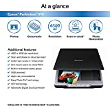 Epson Perfection V19 Color Photo & Document Scanner with scan-to-cloud & 4800 dpi optical resolution