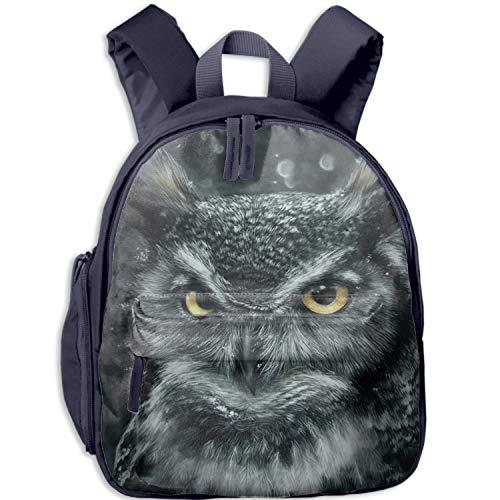 Cool Owl Backpack, Great Junior School, Middle School Backpack School Bag Perfect Travel Kid's Backpack