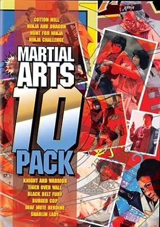 Amazon.com: Martial Arts 10 Pack (Cotton Mill / • Ninja and ...
