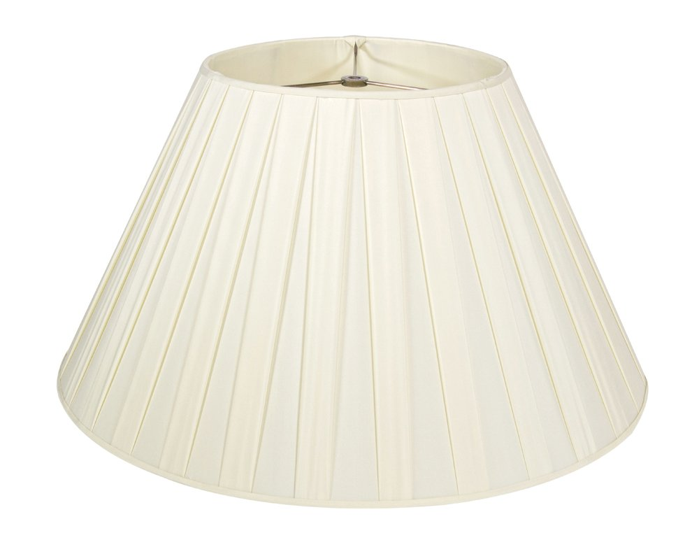 Cream Box Pleat Lampshade - 18''Buy one, get one free!