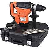 1-1/2'' SDS Electric Rotary Hammer Drill Plus Demolition Bits Variable Speed TKT-11