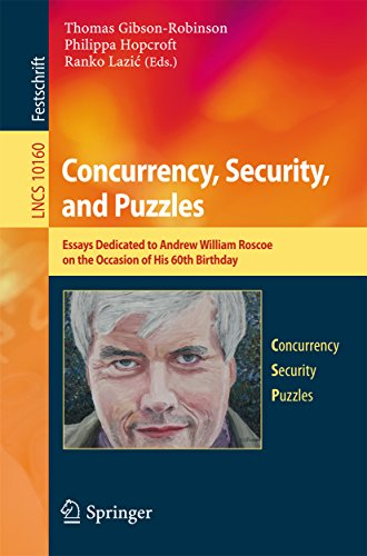 Concurrency, Security, and Puzzles: Essays Dedicated to Andrew William Roscoe on the Occasion of His 60th Birthday (Lecture Notes in Computer Science Book 10160) ()