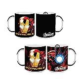 Caneca Mágica 300ML Avengers Iron Man - Homem de Ferro