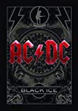 LPGI AC/DC Black Ice Fabric Poster, 30 by 40-Inch