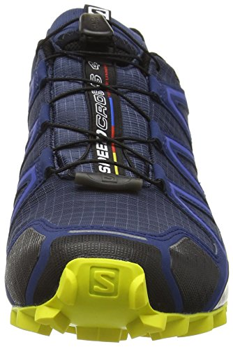 Corona Blue Blu Speedcross Uomo Yellow Salomon Depth Slateblue 4 da Scarpe Running Trail A6wAWzqPx0