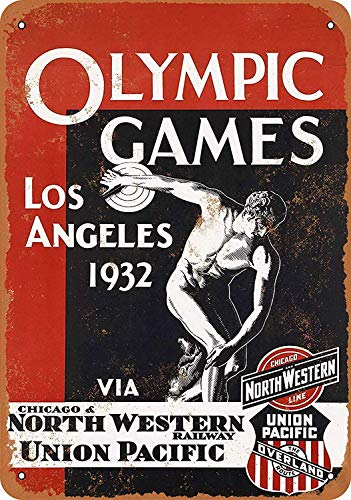 Killy Olympics Games California Wall Tin Sign Retro Plaque Iron Painting Vintage Metal Sheet Creativity Fashion Poster Funny Art Personalized Decoration Crafts for Bar Cafe Garage Home