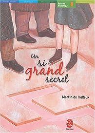 Un si grand secret par Martin de Halleux