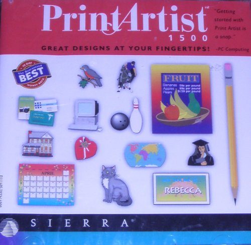 1500 Pick (Print Artist 1500 [Windows 95/3.1])