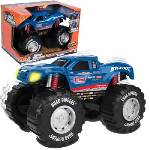 Bigfoot Monster Truck - Toy State Road Rippers Light and Sound 10