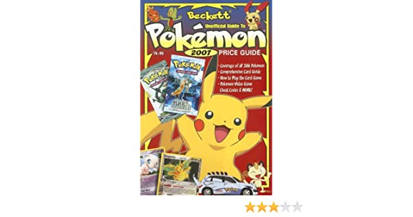 Beckett Unofficial Guide To Pokemon Price Guide Doug Kale
