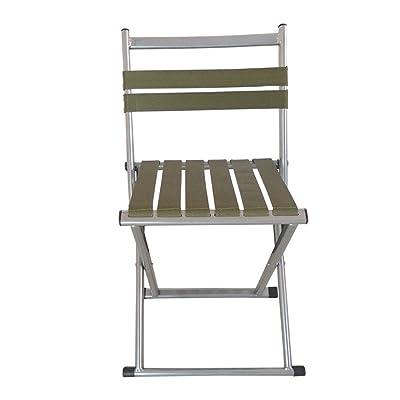 Mazar Pliant Tabouret / Train Maison Militaire Portable Pêche En Plein Air Chaise / Adulte Petit Banc