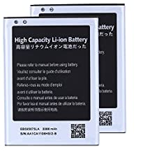 2 pcs High Capacity Samsung Galaxy Note 2 Battery EB595675LU EB595675LA For Samsung Galaxy Note 2 SGH-T889 / Samsung Galaxy Note 2 GT-N7100 / Samsung Galaxy Note 2 SCH-R950 / Samsung Galaxy Note 2 SGH-i317 / Samsung Galaxy Note 2 SPH-L900 3300 mAh
