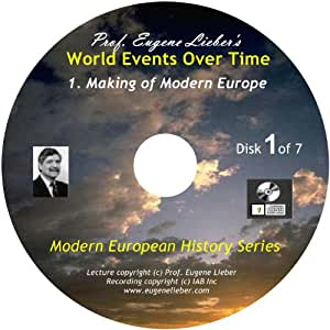 Modern European History Series: Making Modern Europe; World Events Over Time Collection