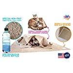 SnugglyCat The Ripple Rug - Made in USA - Cat Activity Play Mat - Thermally Insulated Base - Fun Interactive Play - Training - Scratching - Bed Mat 13