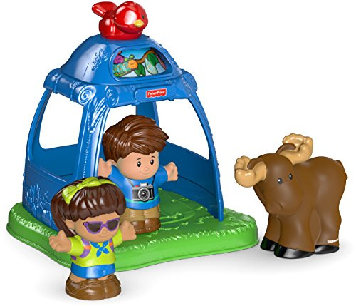 Fisher-Price Little People Going Camping (Tent Camping Toy)