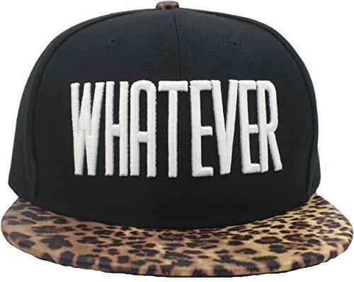 YCMI Hip Hop Letter Whatever Snapback Cap Hat for Men Baseball Caps