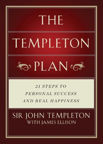Personal Plan (Templeton Plan: 21 Steps to Personal success and Real Happiness)