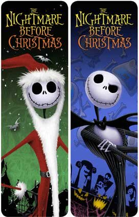 jack skellington the nightmare before christmas 3d bookmark - Nightmare Before Christmas 3d