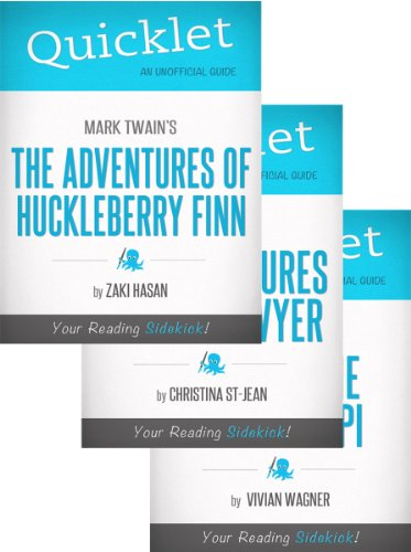 The Ultimate Mark Twain Quicklet Bundle (Huckleberry Finn, Tom Sawyer, Life on the Mississippi)