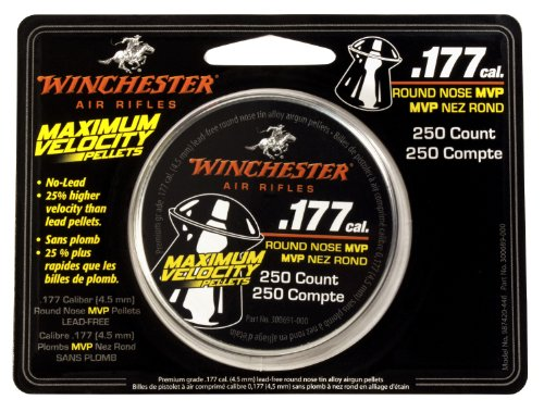 Winchester Maximum Velocity .177-Caliber Air Gun Pellets