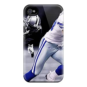 Tpu Shockproof/dirt-proof Dallas Cowboys Cover Case For Iphone(4/4s)