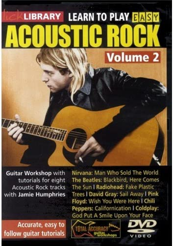 Lick Library: Learn To Play Easy Acoustic Rock Volume 2. Para ...