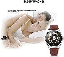 Rwatch R11 - Reloj Inteligente SmartWatch Infrarrojo (Ritmo Cardíaco, Control Infrarrojo, Llamada Recordatorio, Monitor de Sueño y Deporte, Podómetro, ...