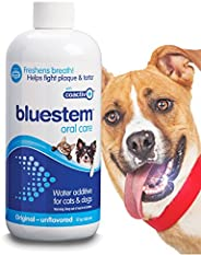 Pet Water Additive Oral Care: for Dogs & Cats Bad Breath, Dental Rinse Freshener Treats Plaque & Teeth
