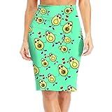 Grh Skirt Avocado Couple Women's Above Knee Slim Fit Modern Series Pencil Skirt