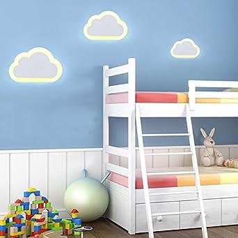 Attrayant Modern Kreativ 1X 12 Watt LED Wandleuchte Acryl Wolke Warmweiß Für  Kinderzimmer Aisle Treppe Schlafzimmer Wohnzimmer