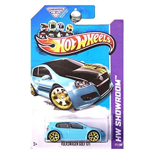 Hot Wheels 2013 HW Showroom Volkswagen VW Golf GTI Aqua ()