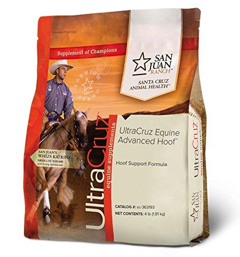 - UltraCruz Equine Advanced Hoof Supplement for Horses, 4 lb. Pellets (56 Day Supply)