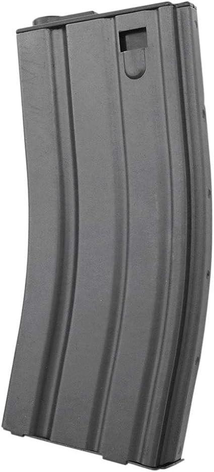 L/&E E/&L Airsoft Softair M4 // AR15 // M16 Stahlblech Midcap Magazin 120 BBS mit Tokio Marui kompatibel